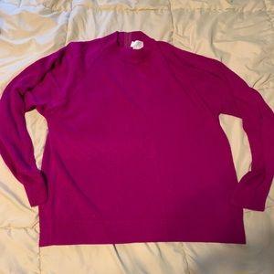 Designer original pink sweater large